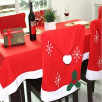Tovaglia Wholesale-rosso Xmas Tovaglia Table Cover Decorazione Per Natale Casa Decoration IC874611