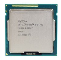 Wholesale Intel Cpu 1155 - i5 3470S Original for Intel Core i5 3470S 2.9GHz 5GT s 4x256KB L2 6MB L3 Socket 1155 Quad-Core CPU