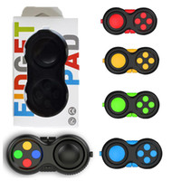 Wholesale cube controller - Game Controllers Magic Fidget Pad Cube Gamepad Children Desk Toy Adults Stress Relief ADHD Relieves Squeeze Decompression Hand Fun Toys