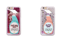 spray se - Sexy Repellent Spray FBoys Bitch Away Heart Quicksand Glitter Liquid Hard Case For iPhone Plus S Plus S SE