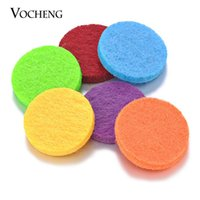 pad accessories - Felt Pads Colorful mm Oil Pads for mm Perfume Locket Essential Oil Diffuser Locket Accessories Colors VA