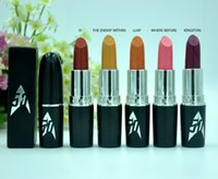 Wholesale Trekking Wholesaler - HOT Makeup Frost Lipstick Star Trek where no man has gone 3g 12 color DHL free shipping+GIFT