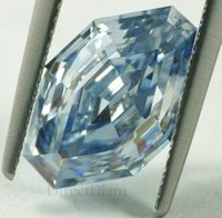 Wholesale 4 ct Fancy Intense Blue loose Natural diamond VS1 GIA certified RAREST DIAM