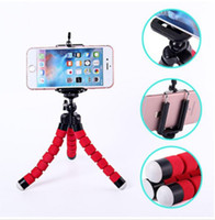 Soporte Flexible Para Iphone Baratos-Para iPhone 7 6S 5 Plus Gorrila Trípodes Universal Octopus Sponge Flexible MINI Trípode Digital Camera Holder Soporte de montaje para soporte de montaje de Canon