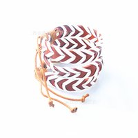 Wholesale Hands Tied Rope - New Fashion Rastaclat Galaxy Bracelet Wristband PU Hand Woven Adjustable Ties 18CM 100% Leather Chain One Size Fits Most Gift Cheap