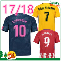 Wholesale F 18 - 17 18 KOKE GABI DIEGO COSTA jersey GRIEZMANN Fernando HOME away 3rd RED F TORRES AWAY GODIN CUSTOM 2017 2018 CARRASCO SAUL shirts