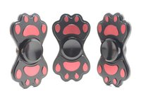 Un giorno di nave Fidget Spinner Bear orso Bearfoot Spider Man Finger Gyro Dito EDC per Decompressione Giocattolo Anxiety Hand Spinner