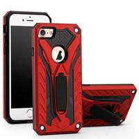 Wholesale Prime Series - Hybrid Armor Kickstand Case Phantom Series For Iphone 7 6 6s Plus Samsung J5 J7 Prime Dual Layer protection Hybrid Kickstand Case OPPBAG