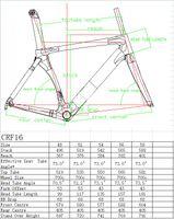 Wholesale Road Bike Frame 56 - FutureBike S5 Carbon Road Bike Frame Free Shipping 48 51 54 56 58CM Bicycle Frame UD weave glossy matte finishing