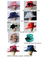 Wholesale Sinamay Wide Brim - Large Brim Sinamay Hat for Kentucky Derby,wedding,races,party,church,formal hat.FREE SHIPPING BY EMS