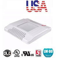 Wholesale UL DLC Approved Led Canopy Lights W W led floodlights outdoor waterproof led flood lights ac V Stock In US