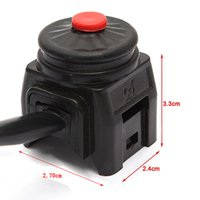 Wholesale Horn Switches - Universal Kill Stop Switch Horn Button for Motorcycle Pit Quad Bike AUP_200