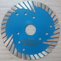 "Wholesale Hot Saw Cutting - 6pcs lot 115mm hot press MG turbo 4.5""diamond saw blade for granite,marble and concrete.cutting wheel cutting tool saw blade power tools"