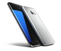 Wholesale Wireless Free Android Smartphone - goophone S7 edge 64bit Quad core show 4G 3GB RAM 64GB ROM smartphone android 6.0 goophone s7 edge Metal frame DHL Free