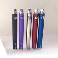 Evod Twist Kit En Gros Pas Cher-Vente en gros eGo C Evod Twist Batteries eGo-C Twist 650/900/1100 / 1300mah Variable Voltage ecig 510 Batterie Compatible avec toutes les séries eGo Kit