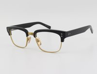 Wholesale Statesman Reading Glasses Men Glasses Frame Optical Computer Men Half Frame Eyeglasses Men Famous Brand Glasses Frame with Case