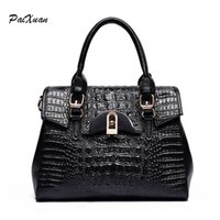 el çantası deri orijinal markalı toptan satış-Toptan-2016 tasarımcı çantaları kadın el çantaları kadınların lüks haberci çanta Gerçek Deri Platinum bolsos kese bir ana femme de Marque markalar