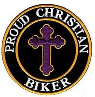 Wholesale wholesale biker caps - Hot Sale! PROUD CHRISTIAN BIKER EMBROIDERED PATCH IRON SWE ON T-shit OR JACKET BAG HAT CAP ECT HIGH QUANLITY