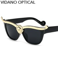 Wholesale Presents Valentines - Vidano Optical Fashion Designer Women Sunglasses Men Sun Glasses Luxury Hot Sale Design Valentine Birthday Gift Present UV400 Free Shipping