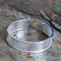 Wholesale Silver Char - Seiko domestic supply of S925 - Silver lightweight hollow super - simple women's bracelet bracelet jewelry wholesale and retail free of char