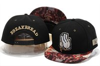 Wholesale Bread Man - Latest Cayler & Sons Snapback Hats BREAK BREAD black blue with pray Last Supper drim hiphop men and women baseball adjustable caps
