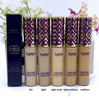 Wholesale High Tape - Highest quality! Tarte Shape Tape Concealer 5 color Makeup Face Concealer DHL Free shipping+GIFT.