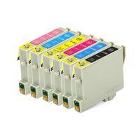 Wholesale Epson Photo Ink Cartridge - For Epson ink cartridge T0481 T0482 T0483 T0484 T0485 T0486 for Epson STYLUS PHOTO R200 R300 R300M R320 RX500 RX600 RX620
