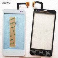 Wholesale Iq Iphone - Wholesale- ESUWO New Touch Panel Sensor Glass For Fly iq4416 iq 4416 Touch Screen Front Glass Digitizer Touchscreen Replacement