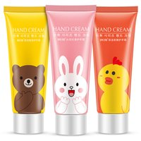 Wholesale Hydrating Hand Cream - 3Pcs Set Skin Beauty Care Set Duck Rabbit Bear Pattern Hand Cream 25g Moisturizing Oil Control Nourshing Hydrating