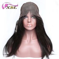 Wholesale Hair Band For Wigs - XBL Body Wave Front Lace Wig Brazilian Human Hair Wigs For Black Women Within Band And Hair Clips