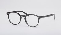 Wholesale Titanium Rimless Spectacle Frames - 2017 New Oliver Peoples Glass frame OV5241 fashion myopia spectacle frame women and men Vintage eyewear frame with original box