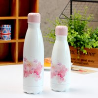 Wholesale Ladies Cherry - Cherry Cola Water Bottles for Girl lady Vacuum Insulated Stainless Steel Sport Water Bottles Tumbler Travel mugs 350 ml 500 ml