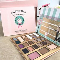Wholesale Shop Kits - Brands Eyeshadow Palettes Makeup Christmas In New York THE CHOCOLATE SHOP Holiday Eye Shadow Cosmetics Kits 24 Colors