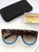 façon lunettes de soleil achat en gros de-Nouveau lunettes de soleil CL41398 gafas de sol lunettes de soleil ellipse boîte lunettes de soleil hommes et femmes lunettes de soleil couleur oculos marque