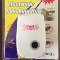 Wholesale Friendly Environment - Hot Saling! 10pcs lot Multi-function Ultrasonic Electronic Pest Repeller, Environment-friendly and Safe Home Pest Reject ,Free Shipping