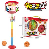 Wholesale Wholesale Plastic Frame Materials - Lifting Indoor and Outdoor Basketball Frame for Kids Pretend Play Toys ABS Material Children Educational Interactive Toys 1ZJ-0094-pretend