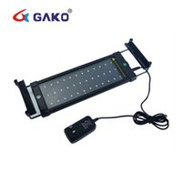6W LED Acquario Light Fish Tank con staffe estensibili 2 modi Bianco e blu 36 LED