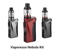 Wholesale Red Nebula - 100% Authentic Vaporesso Nebula Kit VW TC 100W Box Mod 4ml Veco Plus Top Filling Airflow Control Tank Vape Ecigs Eleaf Ijust one