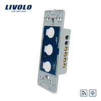 LS-Manufacturer, Livolo Dimmer Switch sin panel de vidrio, interruptor remoto con regulador de luz de pared, VL-C503DR