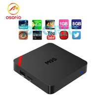 Mini M9S Boîtes Android Amlogic S905X Quad Core IPTV 1 Go / 8 Go OTT TV Box 3D Smart 4K media et Game Player