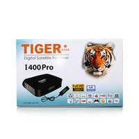 Wholesale Dvb Module - 2017 new module 1pcs Original Tiger4K FHD I400Pro Satellite Receiver IPTV BOX with 1 year royal IPTV subscription bein sports and iks cccam