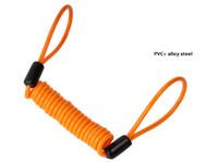 cabo de corda venda por atacado-1.5 M Corda Corda de Fio Da Mola Da Motocicleta Moto Lembrete Reminder Minder Cable Lembrete Minder Cabo de Cabo de Fio de Aço 45