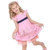 Wholesale Clothing For School - Hot sales, Girl's Dresses,Dresses for school,Dresses for kids,Girl's clothes,cartoon pictures,Flowers print,
