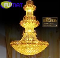 high end pendant lighting. fumat modern highend crystal chandelier luxury gold led europe large pendant lamp penthouse villa hotel hall lighting fixture from dropshipping high end d