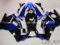 Wholesale 1994 Cbr - High quality fairings for Honda CBR600 F2 1991-1994 1992 1993 CBR 600 F2 91-94 CBR600 F2 91 92 93 94 #d7t34 blue black fairing sets