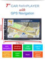 "Wholesale Automotive Car Radio - 7"" HD 2 Din In-dash Car GPS Navigation Car Bluetooth Stereo MP3 Player FM Radio"