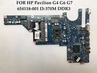 Mini-ITX Intel SATA High quality laptop motherboard for HP Pavilion G4 G6 G7 654118-001 DAR18DMB6D1 I3-370M CPU DDR3 100% Fully Tested