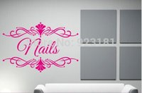 spa wall decor - Home Decor PERSONALISED Beauty Salon Spa Business Name Art Stickers Decal Home DIY Decoration Wall Mural Removable Decor Wall Stickers