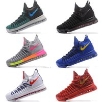 Wholesale Kd High Top Shoes - 2017 New Arrival Kevin KD 9 Elite Men's Basketball Shoes for Top quality KD9 Durant IX BHM Mens Sports Sneakers Size 7-12
