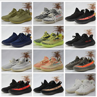 Wholesale Best Quality Cotton - Adidas Originals Best Quality Yeezy Boost 350 man shoes SPLY 350 v2 Boost Running Shoes Sneakers 350 Boost V2 Women Men Shoes Size 36-46